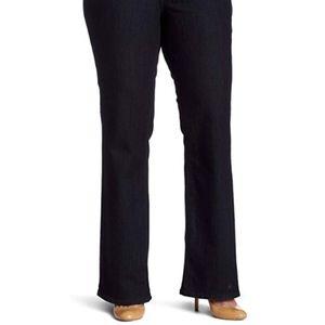 NYDJ Women's Plus Size Hayden Straight Leg Jeans